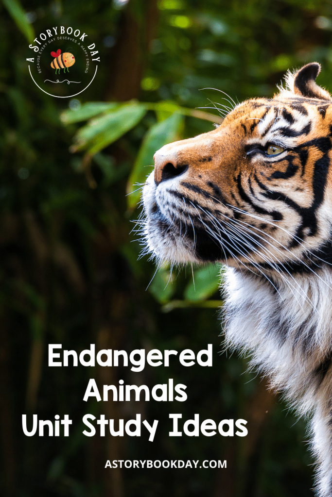 Endangered Animals Unit Study Ideas @ aStorybookDay.com