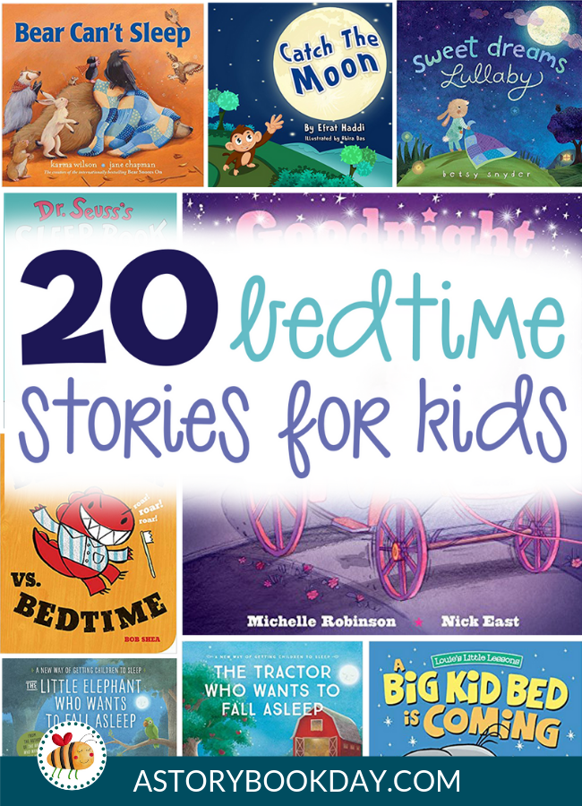 Bedtime Stories for Kids @ aStorybookDay.com