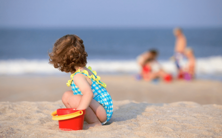 What to Pack for a Day at the Beach with Young Kids