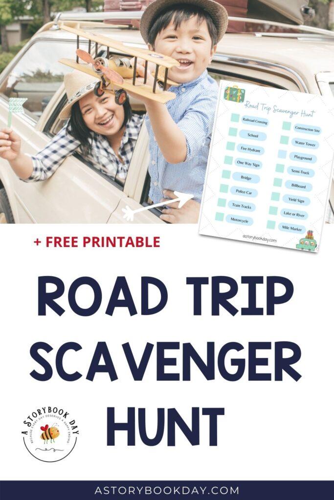 Road Trip Scavenger Hunt for Kids @ A Storybook Day